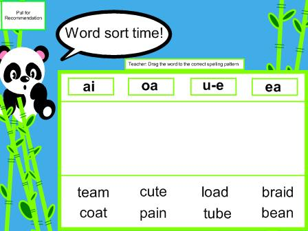 Final -E and Common Long Vowel Teams for Long Vowels